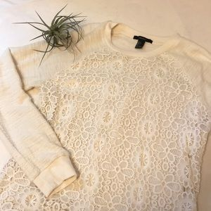Forever 21 embroidered sweater
